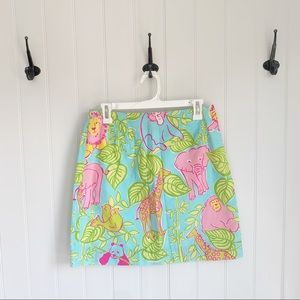 Lilly Pulitzer Vintage Pencil Skirt Size 6